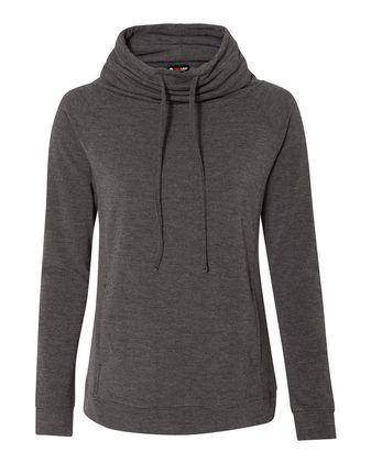 Weatherproof Women\'s Heat Last Fleece Faux Cashmere Funnel Neck Sweatshirt W18706