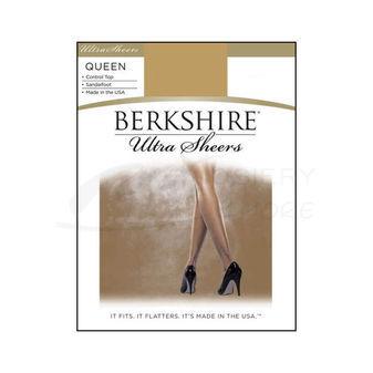 Berkshire Queen Size Ultra Sheer Control Top Pantyhose 4411