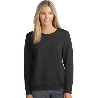 Hanes ComfortSoft EcoSmart Women\'s Crewneck Sweatshirt O4633