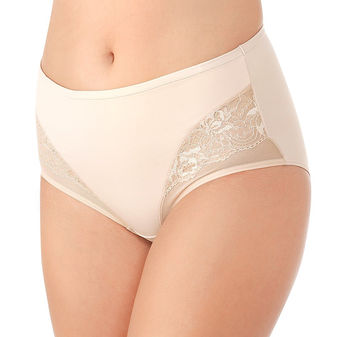 Vanity Fair Smoothing Comfort Lace and Mesh Brief 13267
