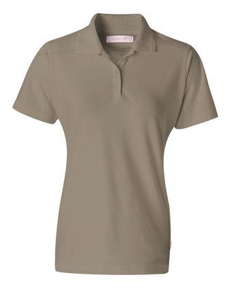 FeatherLite Women\'s Platinum Pique Sport Shirt 5330