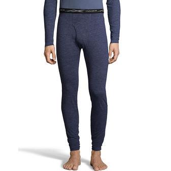 Hanes Men\'s Space Dye 4-Way Stretch Thermal Pant 125463