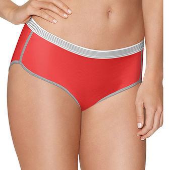 Hanes Womens Sport Comfort X-Temp Hipster Panties with Comfort Flex Waistband 3-Pk CA41AS