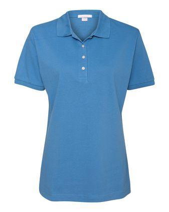 FeatherLite Women\'s 100% Cotton Pique Sport Shirt 2400