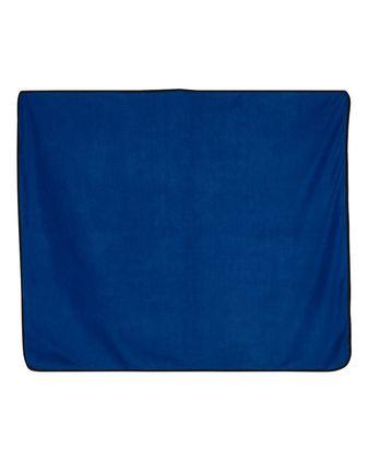 Alpine Fleece Polyester/Nylon Picnic Blanket 8701