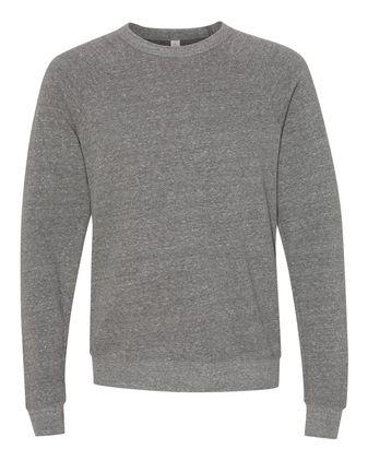 BELLA + CANVAS Unisex Sponge Fleece Raglan Sweatshirt 3901