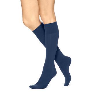 HUE Women\'s Simply Skinny Knee Socks U17115