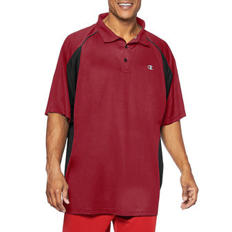 Champion Big & Tall Mens Performance Birdseye Polo CH455