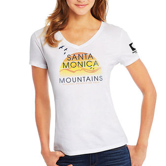 Hanes Santa Monica Mountains Outdoors National Recreation Area Women\'s Graphic Tee G9337P Y07800
