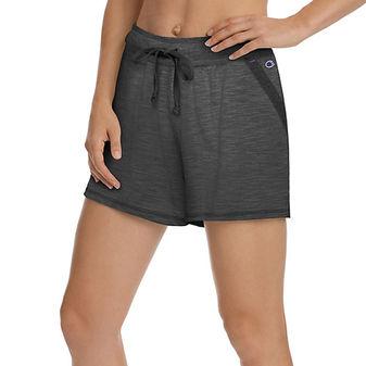 Champion Women\'s Heathered Jersey Shorts M1659