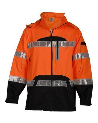 Kishigo Premium Black Series® Rainwear Jacket RWJ106-107