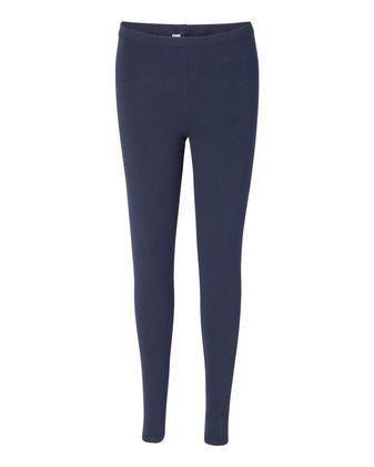 American Apparel Women\'s Spandex Jersey Leggings 8328W