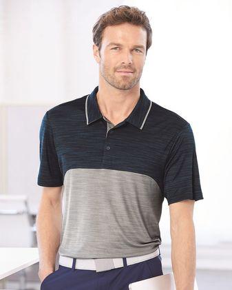 Adidas Colorblocked Melange Sport Shirt - A404