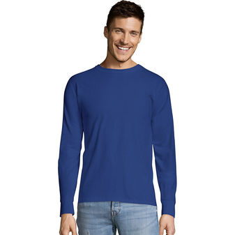 Hanes TAGLESS® Long-Sleeve T-Shirt 5586
