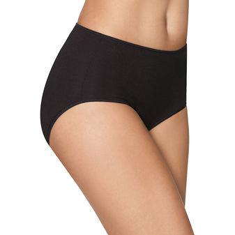 Hanes Women\'s Smooth Illusions Brief Panties 3-Pack K340AS