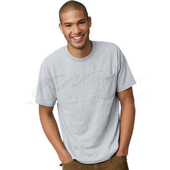 Hanes Men\'s Ecosmart Pocket T-Shirt 5177