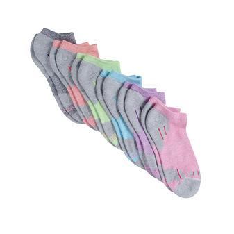 Hanes Women\'s Cool Comfort Heel Shield Socks 6-Pack 4A2/6