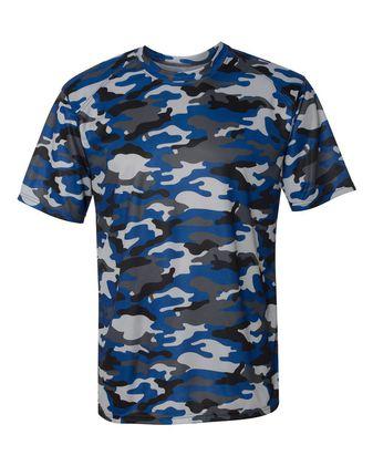 Badger Camo T-Shirt 4181