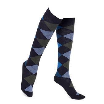 HUE Women\'s Argyle Knee Socks U14908