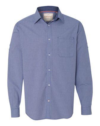 Weatherproof Vintage Mini Check Long Sleeve Shirt 154670