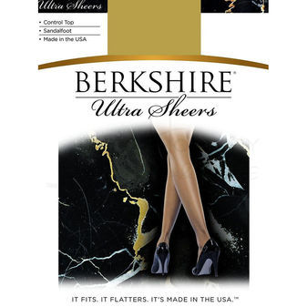 Berkshire Women\'s Ultra Sheer Control Top Pantyhose 4415