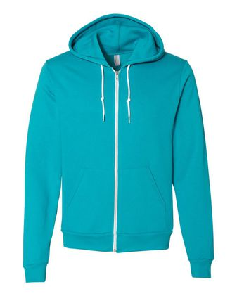 American Apparel Flex Fleece Unisex Full-Zip Hoodie F497W