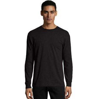 Hanes X-Temp® Men\'s Long-Sleeve T-Shirt O5716