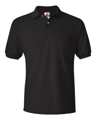 Hanes Ecosmart Jersey Sport Shirt with Pocket 0504