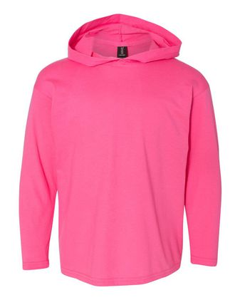 Anvil Youth Long Sleeve Hooded T-Shirt 987B