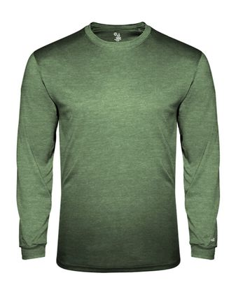 Badger Youth Triblend Long Sleeve T-Shirt 2944