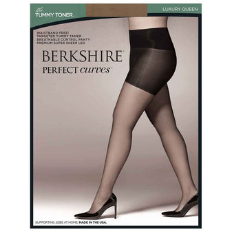 Berkshire Queen Perfect Curves Tummy Toner Pantyhose 5021
