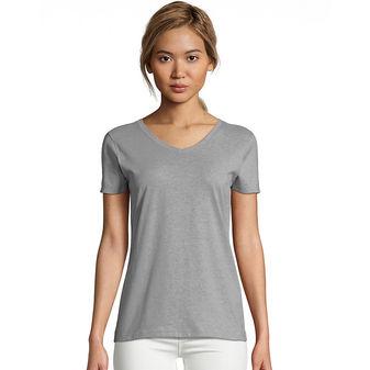 Hanes Women\'s X-Temp® V-Neck T-Shirt 42V0