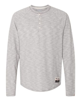 Champion Originals Slub Henley AO380
