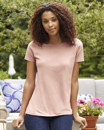 Gildan Softstyle Women\'s CVC T-Shirt 67000L