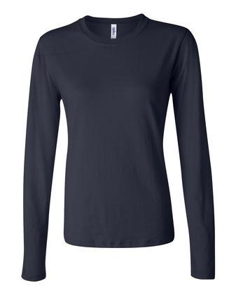 BELLA + CANVAS Women\'s Jersey Long Sleeve Tee 6500
