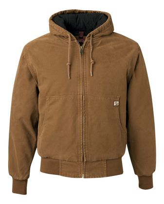 DRI DUCK Cheyenne Boulder Cloth™ Hooded Jacket with Tricot Quilt Lining 5020