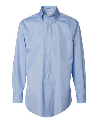 Van Heusen Non-Iron Pinpoint Oxford Shirt 13V0143