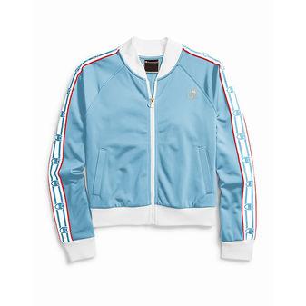 Champion Life Women\'s Track Jacket, Crown C Logo JL818 549988