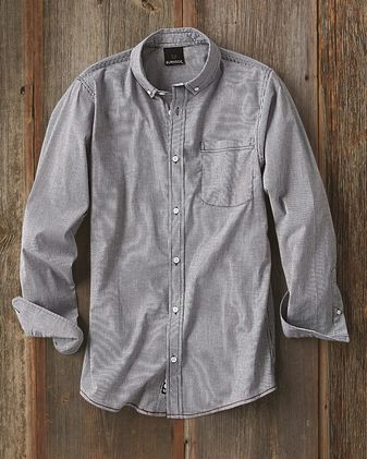 Burnside Stretch Stripe Long Sleeve Shirt 8259