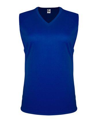 C2 Sport Women\'s Sleeveless V-Neck Tee 5663