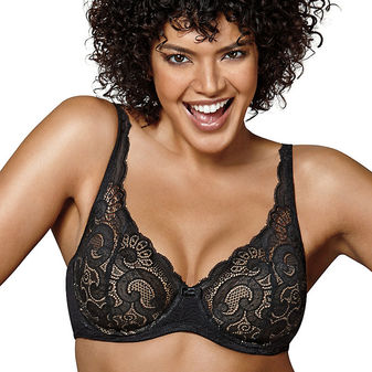 Playtex Love My Curves Beautiful Lift Lightly Lined Underwire Bra US4514