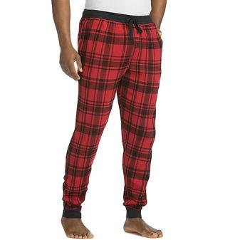 Hanes Men\'s Thermal Waffle Knit Jogger Pants PC1027
