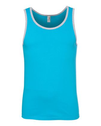 Anvil Lightweight Ringer Tank Top 986