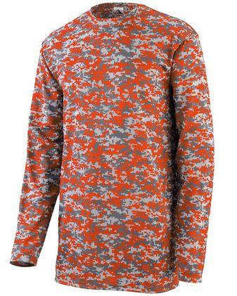 Augusta Sportswear Youth Digi Camo Wicking Long Sleeve T-Shirt 2789