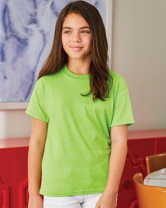 Hanes Ecosmart™ Youth Short Sleeve T-Shirt 5370 B085VJY146 1PK