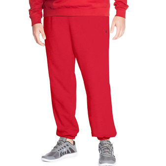 Champion Big & Tall Men\'s Fleece Pant CH106