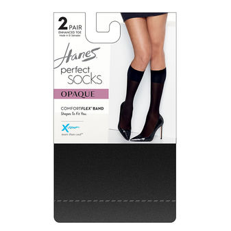 Hanes Perfect Socks Opaque Trouser HST012