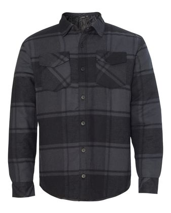 Burnside Quilted Flannel Jacket 8610