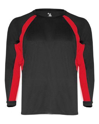 Badger Youth B-Core Hook Long Sleeve T-Shirt 2154