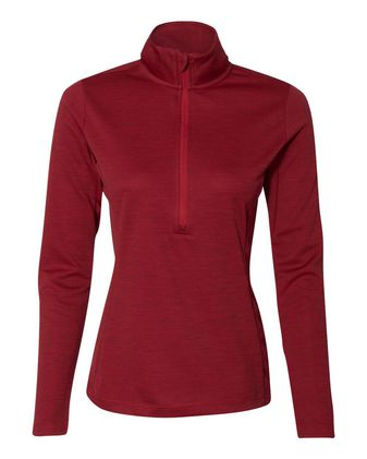 Russell Athletic Women\'s Striated Quarter-Zip Pullover QZ7EAX